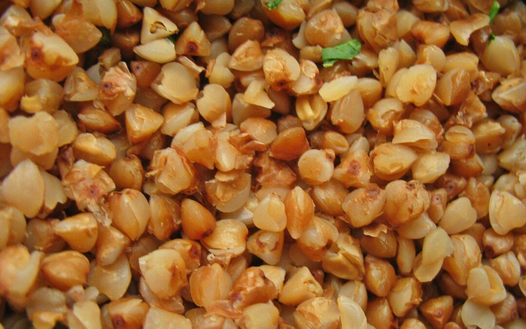 Macarrones de trigo sarraceno con tomillo