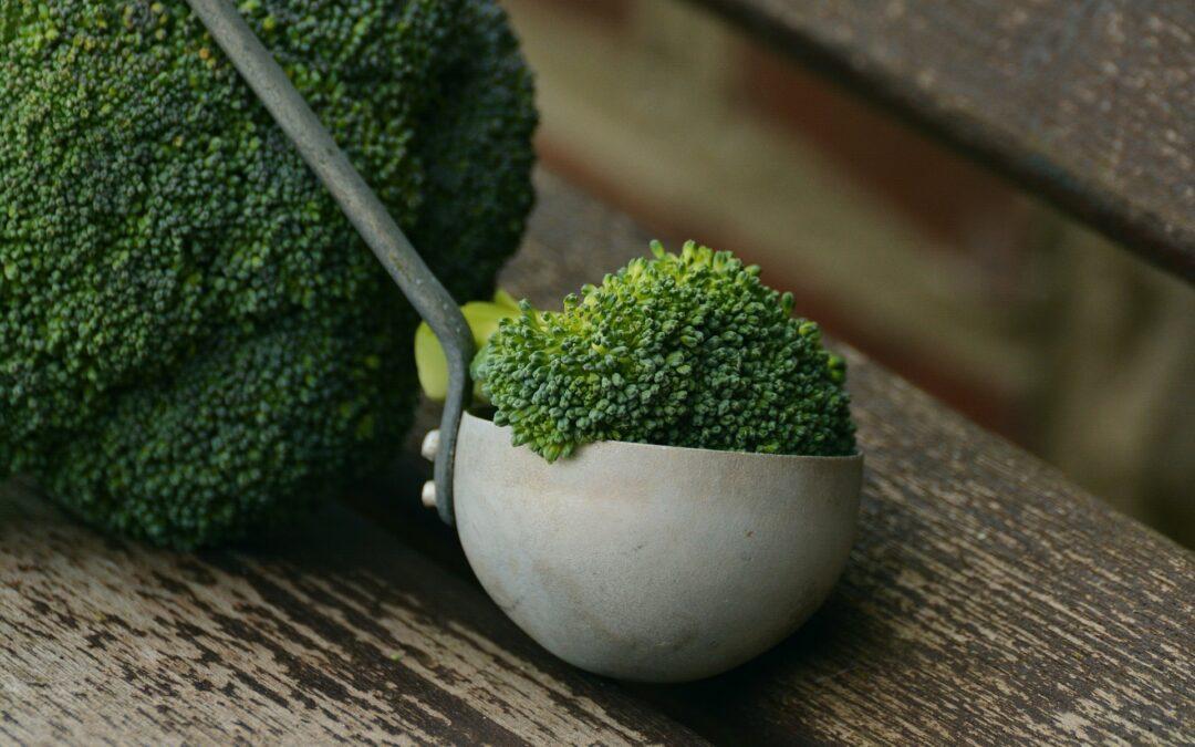 Pimientos rellenos de paté de brócoli