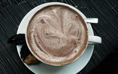 Batido de cacao en polvo  vs. Harina de algarroba