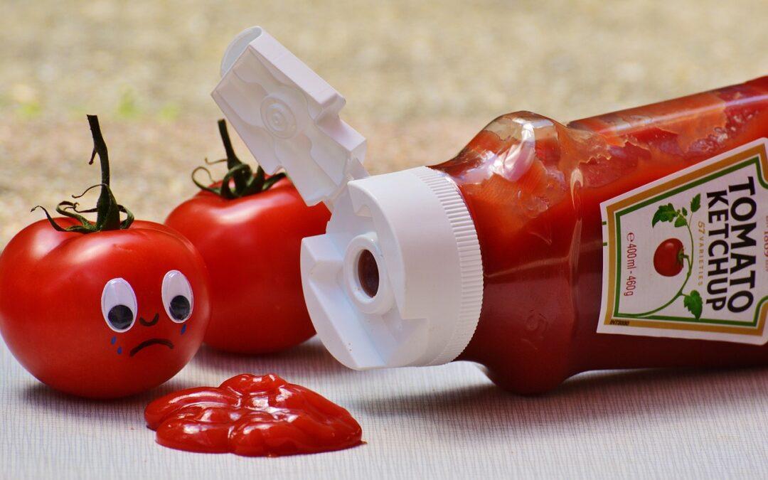 Salsa kétchup crudivegana