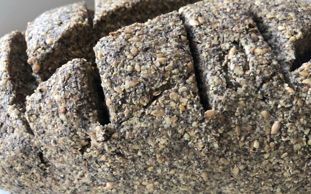 Pan de lino y chía